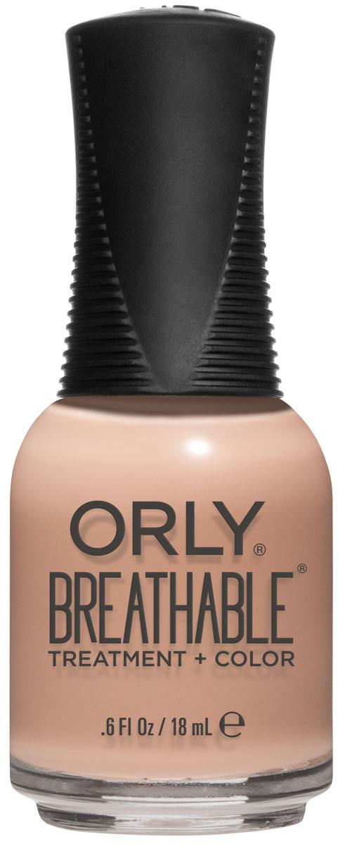 Orly Профессиональный цветной дышащий уход за ногтями Breathable 983 You Go Girl, 18 мл orly cuticle care сomplex объем 18 мл