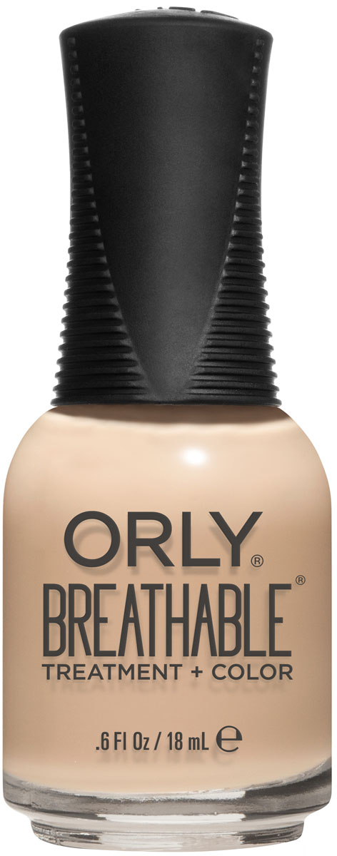 Orly Профессиональный цветной дышащий уход за ногтями Breathable 986 Mind Body Spirit, 18 мл базы orly top 2 bottom объем 9 мл