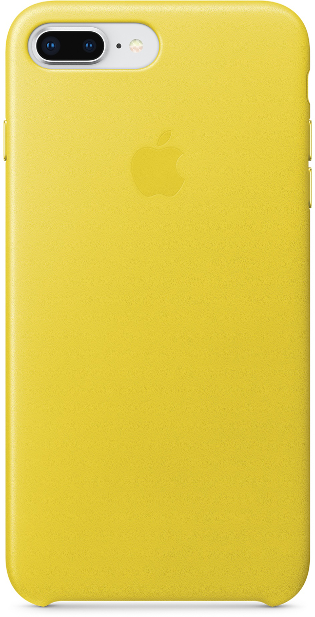 Apple Leather Case чехол для iPhone 7 Plus/8 Plus, Spring Yellow water drops style protective plastic back case for iphone 4 blue
