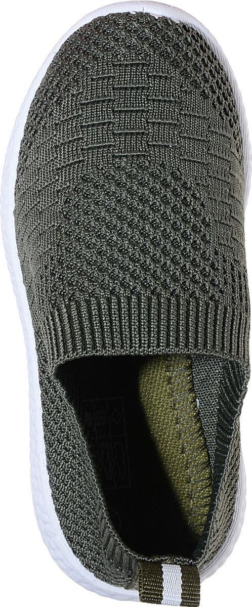 Кроссовки от Отличник станут отличным дополнением гардероба каждого ребенка. Модель выполнена из текстиля и оформлена декоративной вязкой. Ярлычок на заднике облегчает надевание. Стелька и подкладка из мягкого текстиля комфортны при ходьбе. Рифление на подошве обеспечивает идеальное сцепление с любыми поверхностями.