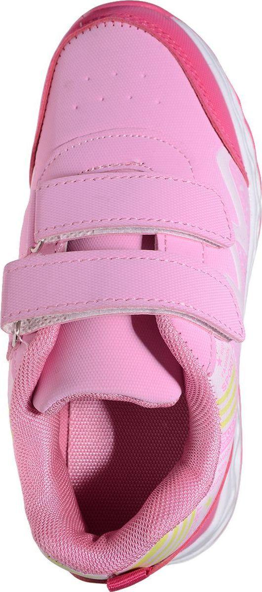 Кроссовки от Отличник станут прекрасным дополнением гардероба каждого ребенка. Модель, выполненная из плотного текстиля и искусственной кожи, оформлена принтом. Ремешки с застежкой-липучкой обеспечивают надежную фиксацию модели на ноге. Ярлычок на заднике облегчает надевание. Стелька и подкладка из мягкого текстиля комфортны при ходьбе. Рифление на подошве обеспечивает идеальное сцепление с любыми поверхностями.