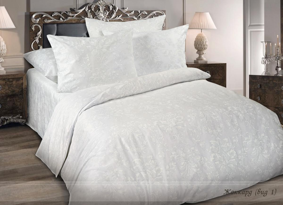 Комплект белья Магия ночи Жаккард, 1,5 спальный, наволочки 70x70. 15104-001-177