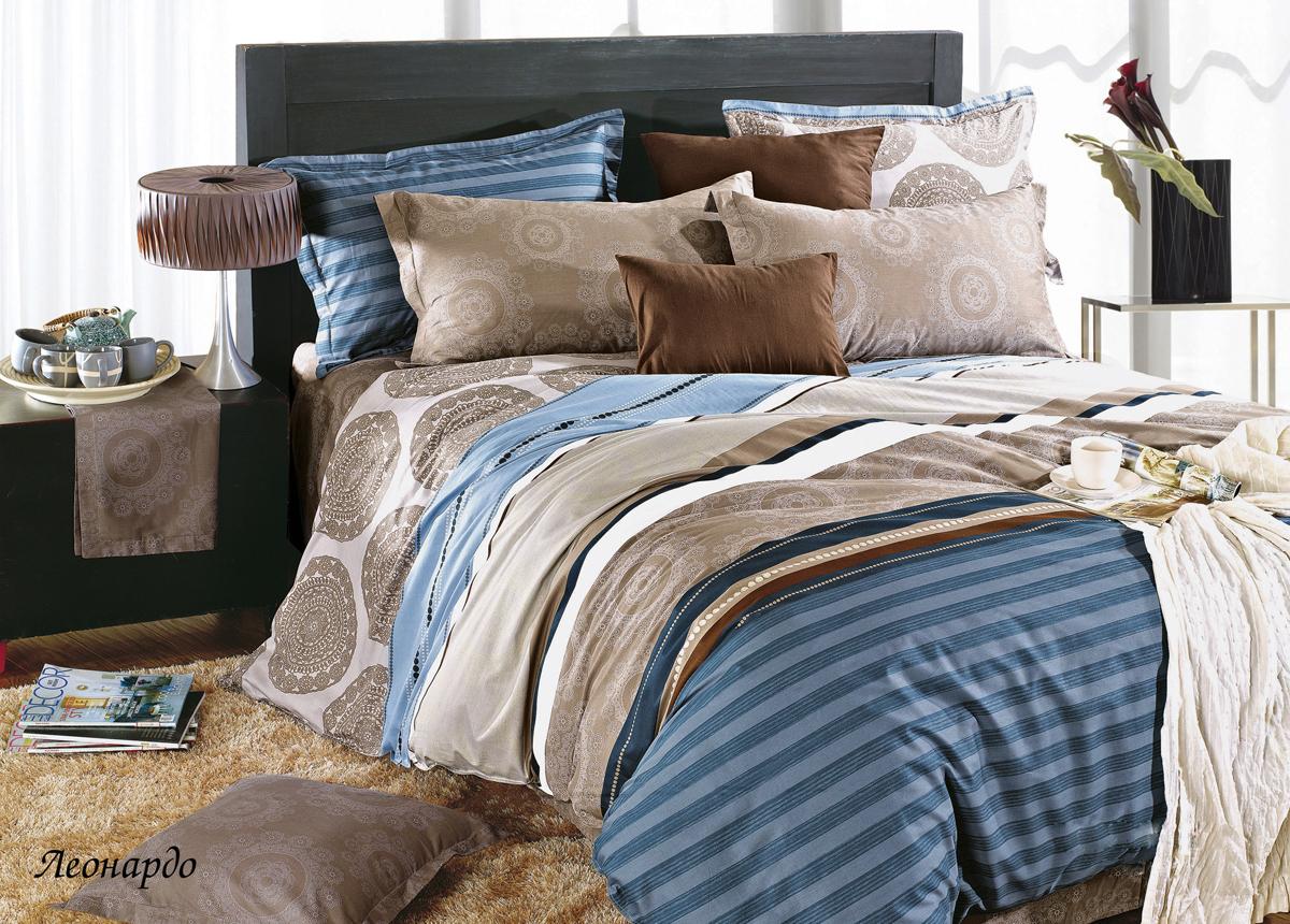 Комплект белья Магия ночи Леонардо, 2-спальный, наволочки 70x70. 20104-001-139