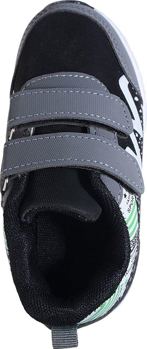 Кроссовки от Отличник станут отличным дополнением гардероба каждого ребенка. Модель, выполненная из плотного текстиля и искусственной кожи, оформлена принтом. Ремешки с застежкой-липучкой обеспечивают надежную фиксацию модели на ноге. Ярлычок на заднике облегчает надевание. Стелька и подкладка из мягкого текстиля комфортны при ходьбе. Рифление на подошве обеспечивает идеальное сцепление с любыми поверхностями.