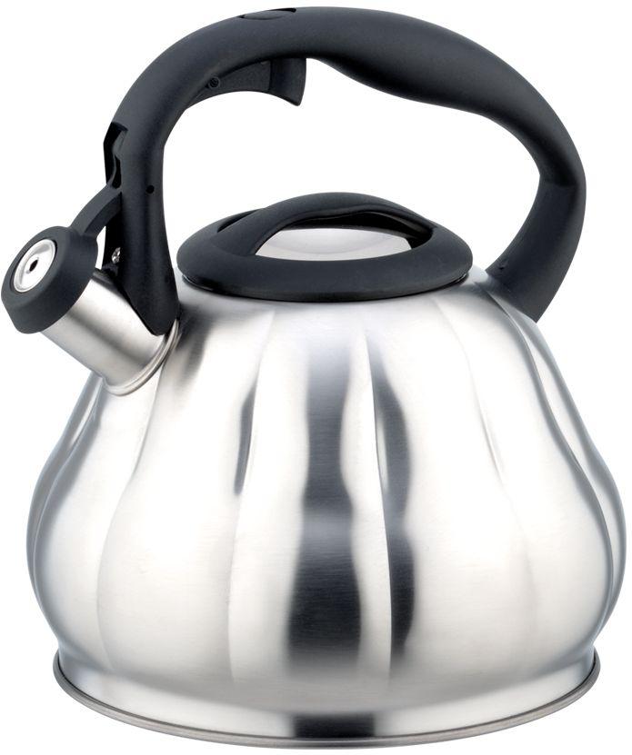 Чайник Eurostek, со свистком, 3 л. ESK-3062 чайник agness со свистком индукционное дно 3 л