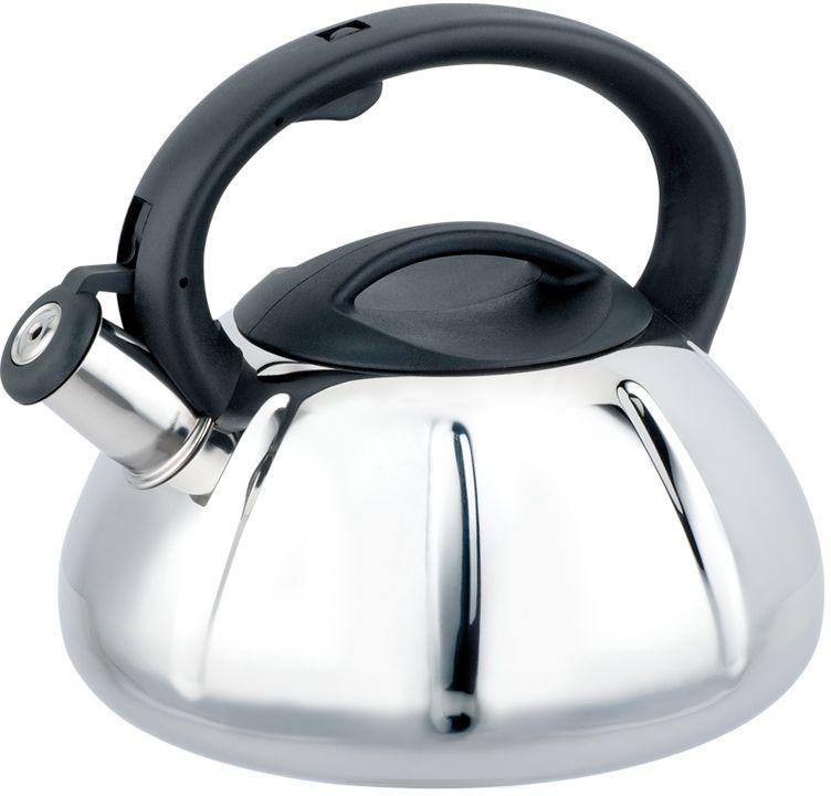 Чайник Eurostek, со свистком, 3 л. ESK-3065ESK-3065Чайник Eurostek изготовлен из высококачественной нержавеющей стали. Он оснащен эргономичной ручкой и свистком. Подходит для всех видов плит. Можно мыть в посудомоечной машине.Оригинальное покрытие корпуса, многослойное капсульное дно.