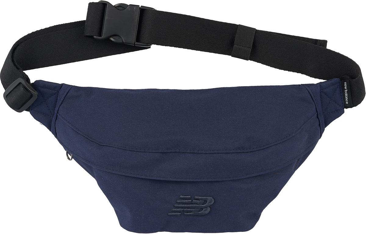 Сумка на пояс мужская New Balance, цвет: темно-синий. 500279/420