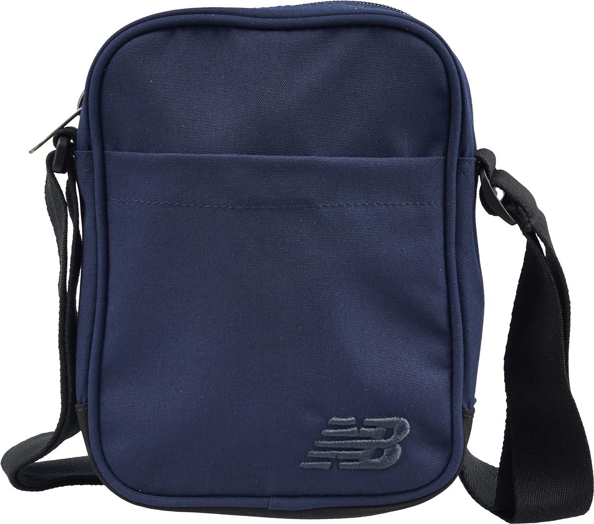 Сумка на плечо мужская New Balance, цвет: темно-синий. 500280/420