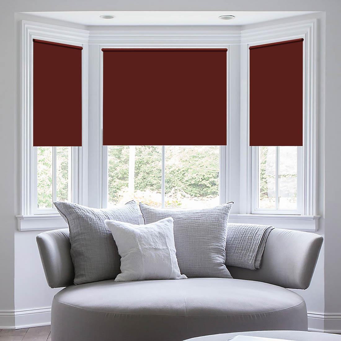 Штора рулонная Sleep iX Eclipce, цвет: красный, серебристый, высота 172 см, ширина 62 смpva314178Blackout трехслойная светонепроницаемая ткань, из полиэфирного волокна с двойным сатиновым переплетением. Ткань Blackout по своим внешним признакам фактически не отличается от обычной драпировочной ткани, но обладает уникальным свойством: она практически не пропускает свет. Благодаря этому можно добиться полного затемнения, так часто необходимого для спального помещения. Так как сама ткань довольно плотная, она отлично сохраняет тепло в помещении! Blackout выступает барьером создавая в зоне окна тепловой занавес, что защитит квартиру от сквозняка и холода. Летом такое положение штор из блэкаута, наоборот, сохранит прохладу внутри помещения, не дав солнечному свету нагревать помещение.Помимо перечисленных свойств, ткань Blackout обладает высокой плотностью, что обеспечивает высокое качество исходного сырья и хорошую износостойкость изделий. Ткань подвергается дополнительной обработке специальным защитным химическим составом, что позволяет шторам не выгорать при солнечном свете, и сохранит от воздействия солнечного света другие предметы интерьера. Уникальные свойства ткани не теряются с течением времени и в процессе ее эксплуатации. Разрешается ручная стирка и деликатная стирка в стиральной машине.Кронштейны - специальные крючки-держатели, которые крепятся на поверхность, а на них крепится штора. Такой вид крепления обычно используется для рулонных, французских, римских или австрийских штор. Кронштейны держат конструкцию из вала (карниза), на котором находится полотно, и механизма подъема/опускания шторы.ВНИМАНИЕ! Комплектация штор может отличаться от представленной на фотографии. Фактическая комплектация указана в описании изделия.Производитель: Sleep iX. Cтрана бренда: Япония. Рулонные шторы. Материал портьеры: Blackout. Состав портьеры: 100% полиэстер. Размер портьеры: 62 х 172 см (1 шт.). Вид крепления: кронштейны. Тип карниза: без использования карниза. Рекомендуемая 