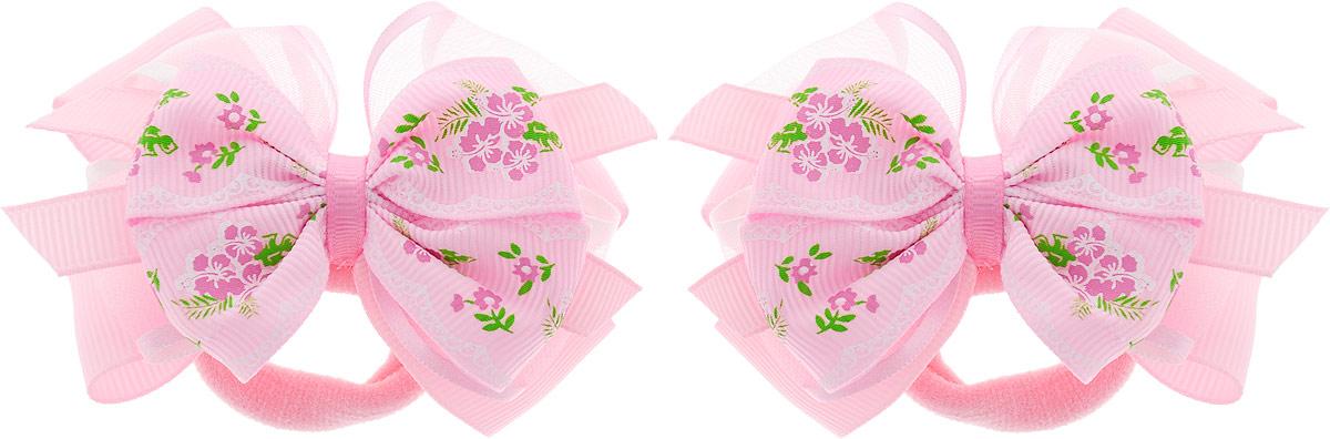Baby's Joy Резинка для волос Бант MN 142/2_светло-розовый