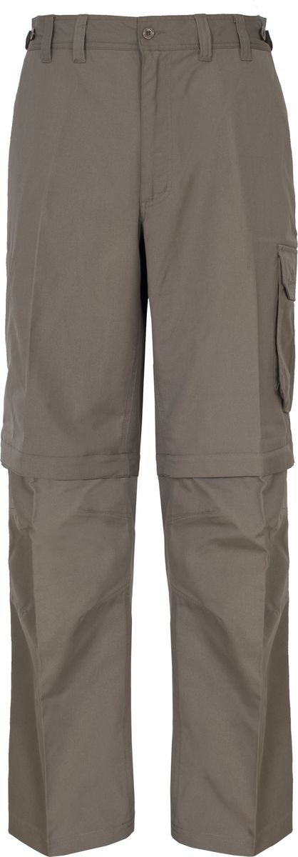 Брюки мужские Trespass Mallik, цвет: коричневый. MABTTRG10003. Размер XXL (56)