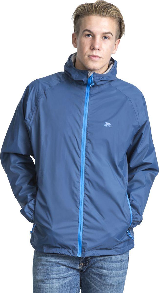 Ветровка мужская Trespass Rocco_Ii, цвет: темно-синий. MAJKRAM10013. Размер XL (54)