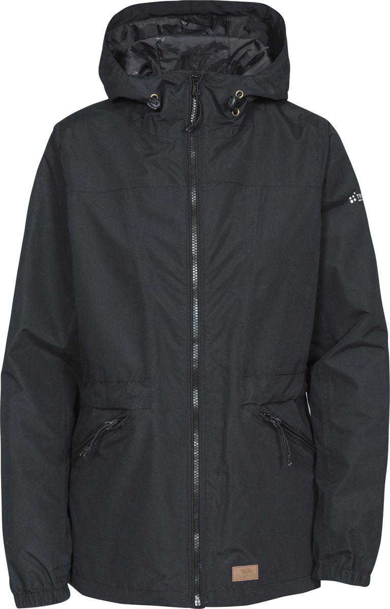 Куртка женская Trespass Cruella, цвет: черный. FAJKRAN10007. Размер XXL (52) куртка утепленная trespass trespass tr795ebwxo49