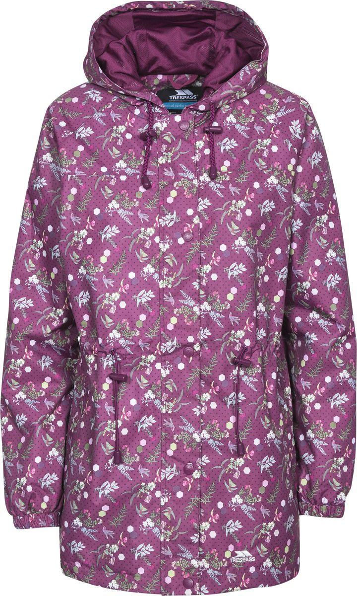 Купить Плащ женский Trespass Pastime, цвет: бордовый. FAJKRAN10002. Размер XS (42)