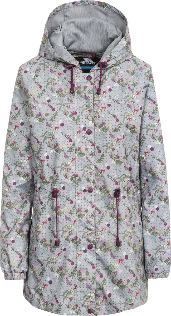 Купить Плащ женский Trespass Pastime, цвет: светло-серый. FAJKRAN10002. Размер XS (42)