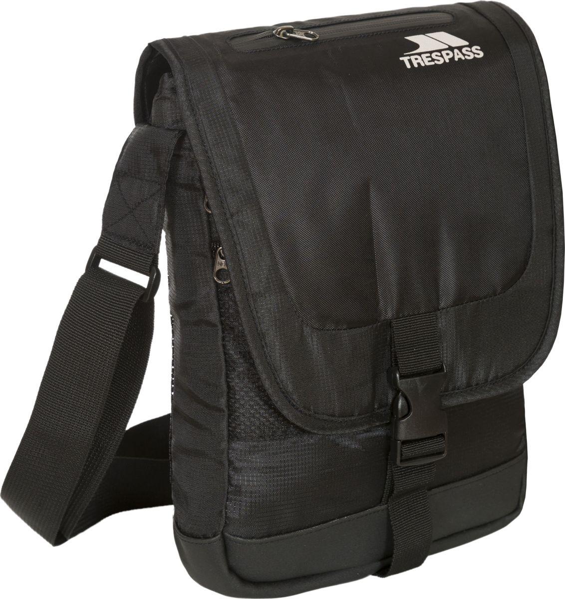 Сумка на плечо Trespass Strapper, цвет: черный. UAACBAJ30002