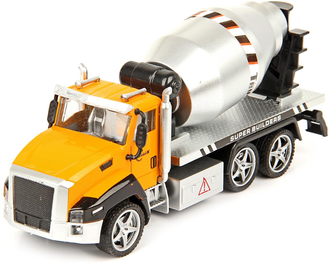 Drift Машинка Спецтехника Concrete Mixer 1:36 машины drift машина фрикционная такси