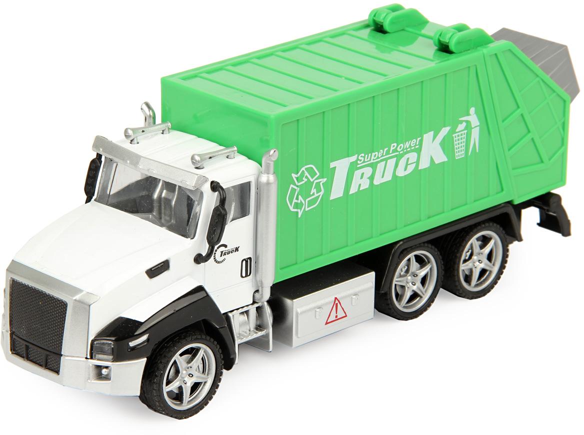 Drift Машинка Спецтехника Sanitation Truck 1:36 drift машина фрикционная