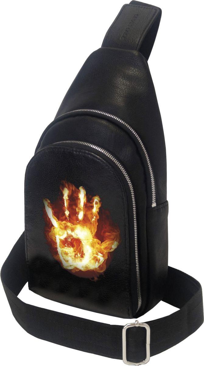 Рюкзак мужской Cross Case, цвет: черный. MB-3046-06 Black