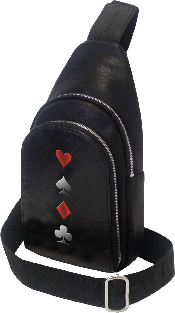 Рюкзак мужской Cross Case, цвет: черный. MB-3046-07 Black