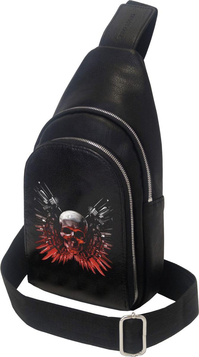 Рюкзак мужской Cross Case, цвет: черный. MB-3046-08 Black