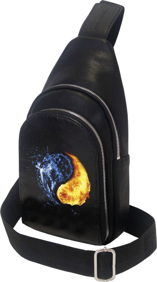 Рюкзак мужской Cross Case, цвет: черный. MB-3046-11 Black