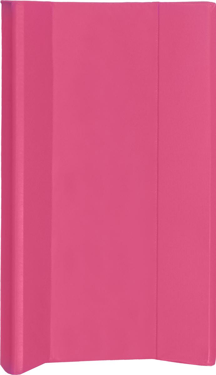 Фея Доска пеленальная Параллель цвет розовый