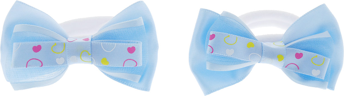 Babys Joy Резинка для волос 2 шт MN MN 131/2_голубойMN 131/2_голубойBabys Joy Резинка для волос 2 шт MN MN 131/2_голубой