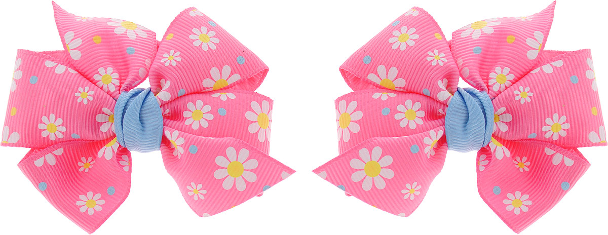 Baby's Joy Резинка для волос Бант MN 75/2 MN 75/2_ярко-розовый baby s joy резинка для волос цвет белый с бусинами mn 203