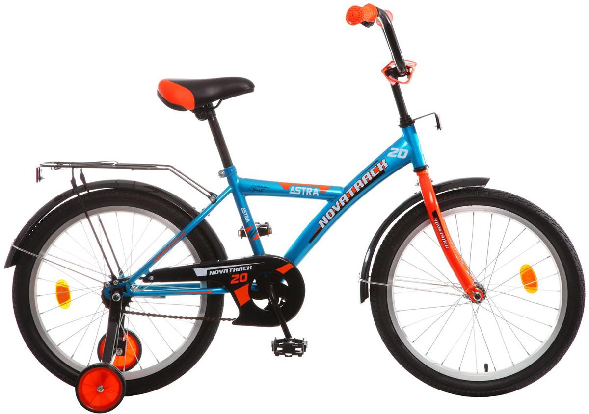Велосипед детский Novatrack  Astra , цвет: синий, 20  - Детские велосипеды