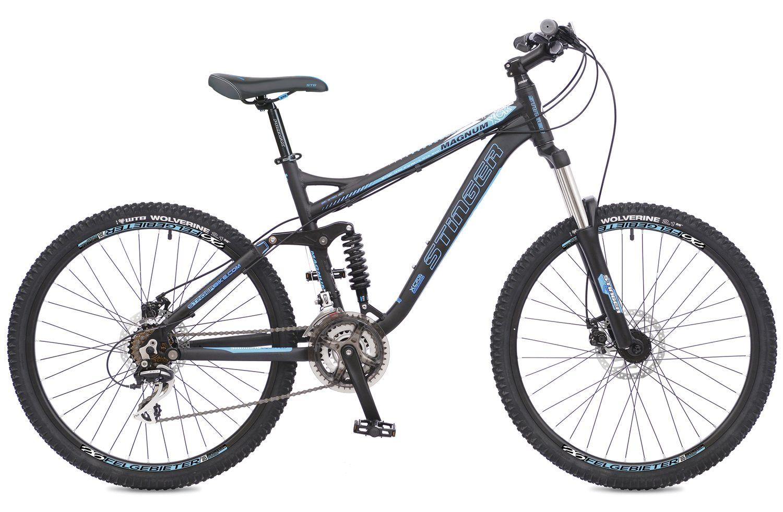 """Велосипед горный Stinger """"Magnum"""", цвет: синий, 26"""", рама 18"""""""