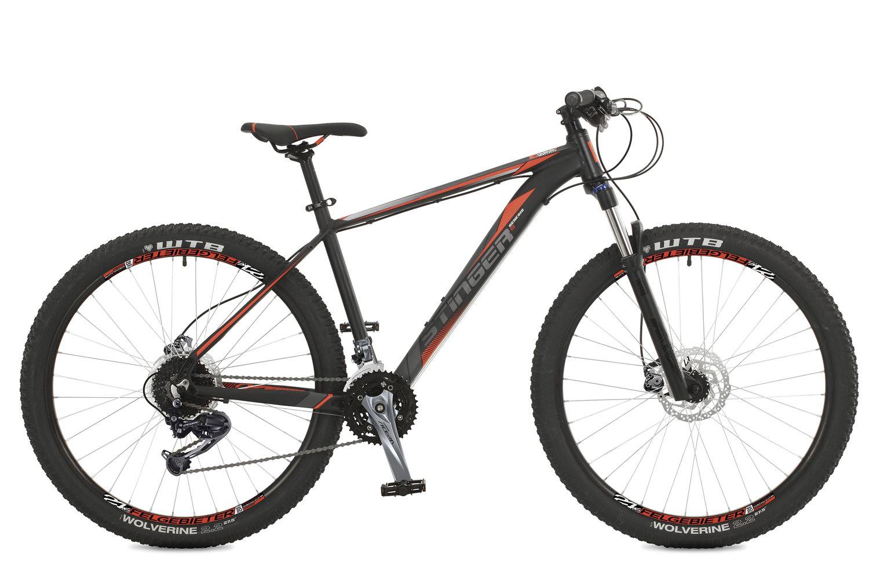 Велосипед горный Stinger Genesis D, цвет: черный, 27.5, рама 18