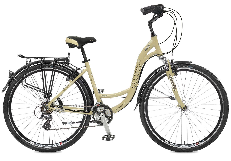 Велосипед дорожный Stinger Calipso, цвет: бежевый, 28, рама 16 ботинки calipso