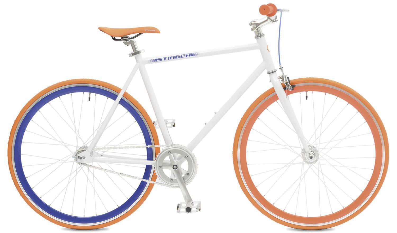 Велосипед горный Stinger Fix White, цвет: белый, 28, рама 20,5