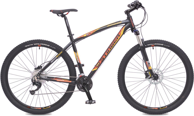 Велосипед горный Stinger Genesis 3.7, цвет: коричневый, 29, рама 16 велосипед stinger the bat 16 117227