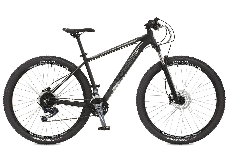 Велосипед горный Stinger Genesis HD, цвет: черный, 29, рама 20