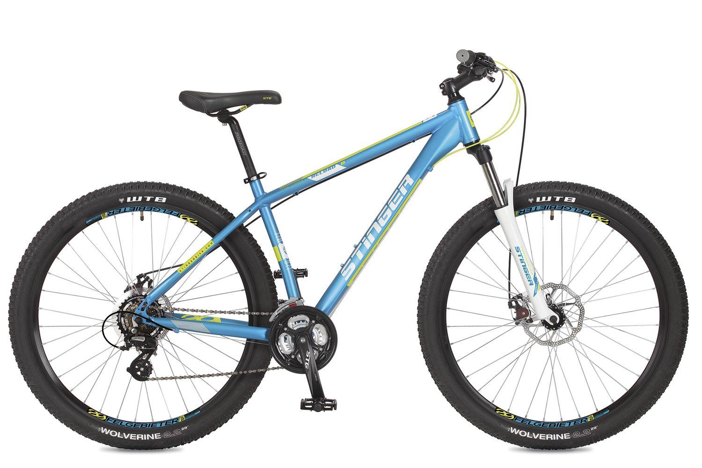 Велосипед горный Stinger Reload D, цвет: синий, 29, рама 18