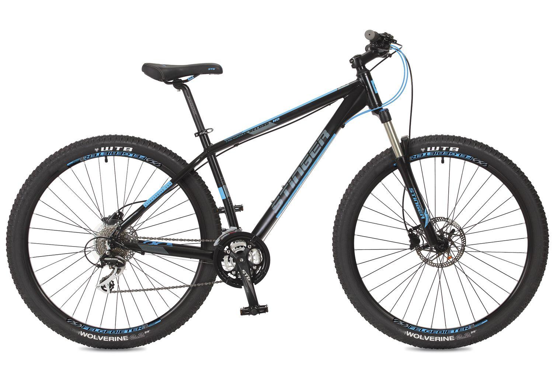 Велосипед горный Stinger Reload HD, цвет: черный, 29, рама 18