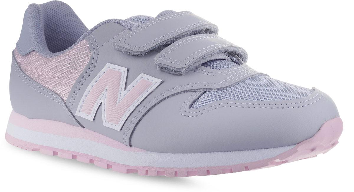 Кроссовки для девочки New Balance 500, цвет: серый. KV500KGY/M. Размер 3 (35) - Обувь