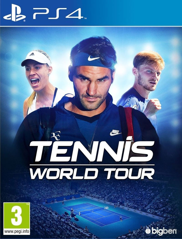 Zakazat.ru Tennis World Tour (PS4)