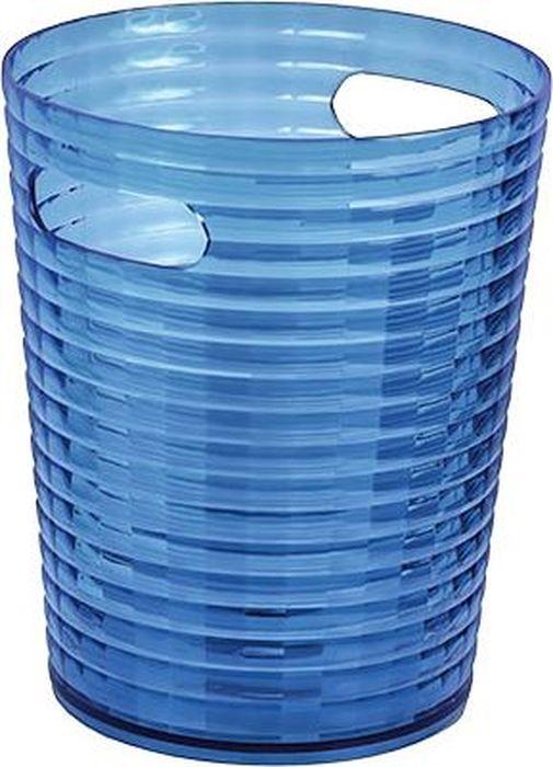 Ведро для мусора Fixsen Glady, цвет: темно-синий, 6,6 л09-05Ведро 6,6 л темно-синее