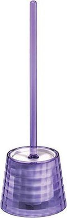 Ершик для унитаза Fixsen Glady, с подставкой, цвет: фиолетовый, 41 х 13,2 х 13,2 см33-79Ерш напольный фиолетовый