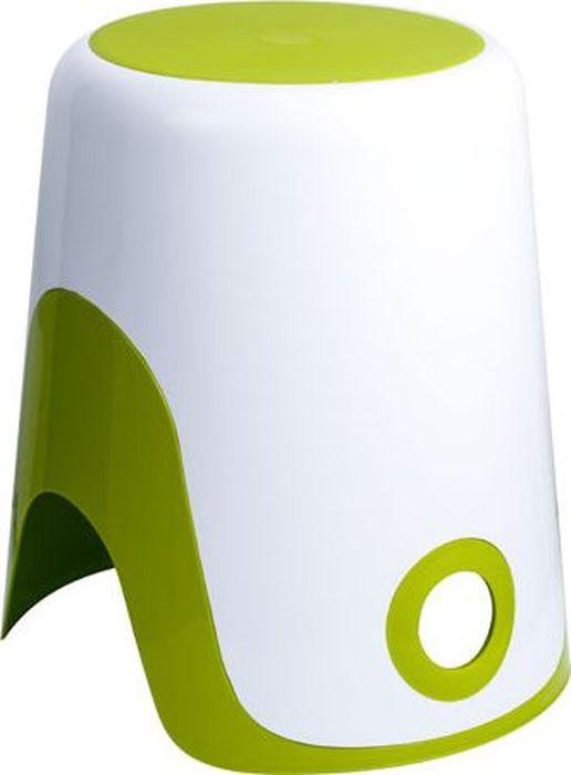 Корзина для белья 2в1 зеленая