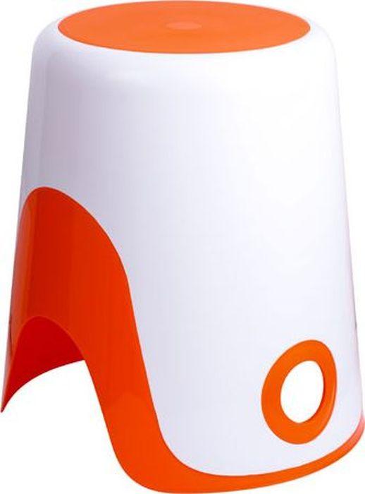 Корзина для белья 2в1 оранжевая
