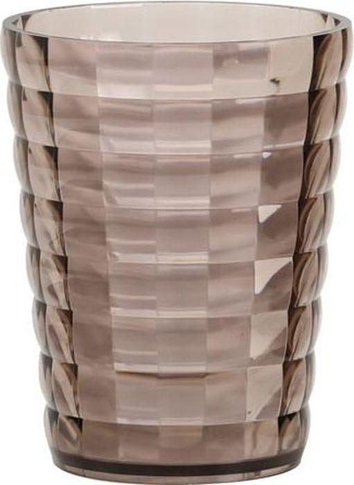Стакан для ванной комнаты Fixsen Glady, цвет: мокко, 200 мл стакан boyscout складной 200 мл