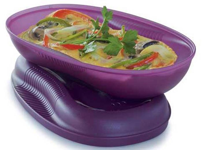 Емкость для СВЧ Tupperware Браво-Дилайт, 430 мл контейнер tupperware умный холодильник 800 мл
