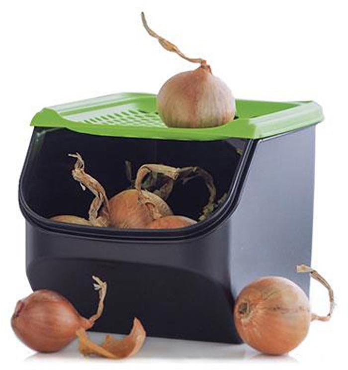 В контейнере «Дыхание» можно хранить овощи, которые при обычном хранении часто подвергаются бактериозу и различного вида гнили. Это картофель, чеснок, лук, морковь, свекла и т.д. Положите нужное количество корнеплодов в изделие и закройте крышкой с отверстиями.Ваши овощи надолго останутся сухими и свежими, так как к ним будет обеспечен постоянный доступ кислорода и выход излишней влаги. А лук и чеснок не будут прорастать!Для того, чтобы достать необходимое количество овощей нужно просто приоткрыть крышку. Доставать с полки весь контейнер не обязательно!Корнеплоды в изделии можно хранить не только в холодильнике, но и на кухонной полке или в шкафу!