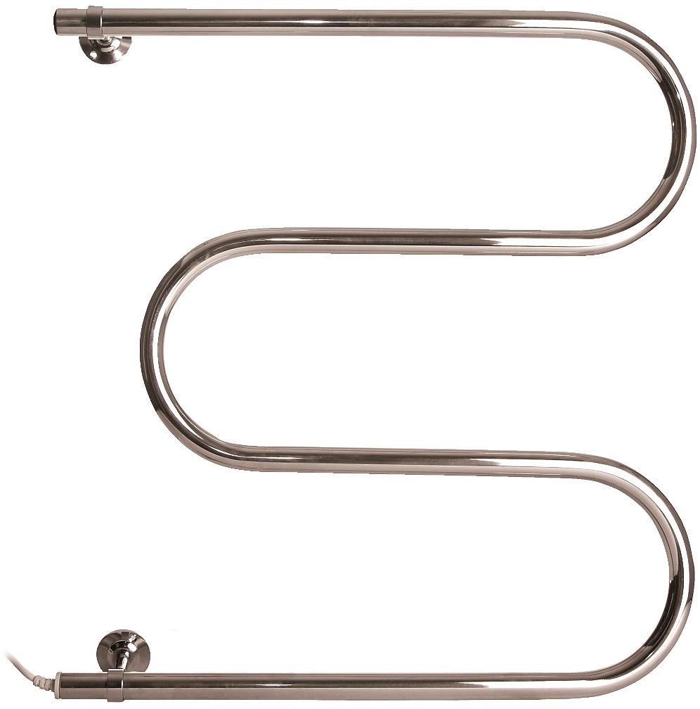 """Полотенцесушитель электрический ТЕРА """"М-образный"""" - отличный вариант либо для замены водяного эконома, либо для установки там, где не предусмотрено центральное отопление. Полотенцесушитель сочетает в себе простоту и доступность, в качестве теплоносителя выступает нагревательный кабель, пропущенный через """"тело"""" полотенцесушителя."""