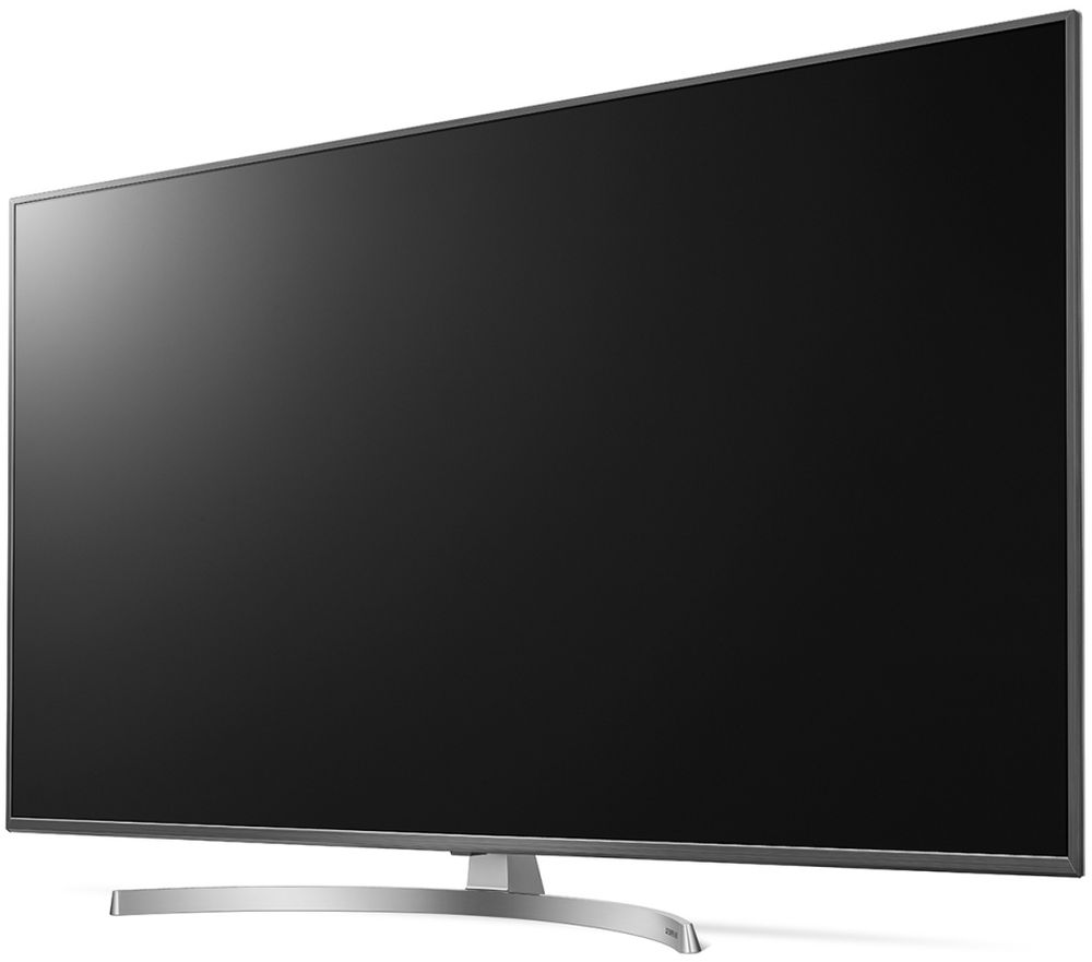 LG 55SK8100PLA, Silver телевизор телевизор led lg 50 50uk6510plb серебристый ultra hd 100hz dvb t2 dvb c dvb s2 usb wifi smart tv rus