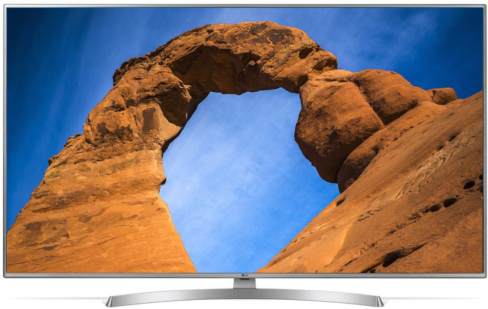 LG 43UK6510PLB, Silver телевизор телевизор led lg 50 50uk6510plb серебристый ultra hd 100hz dvb t2 dvb c dvb s2 usb wifi smart tv rus
